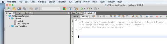 Debugging AWS Lambda with NetBeans | Ryan Cuprak's Blog